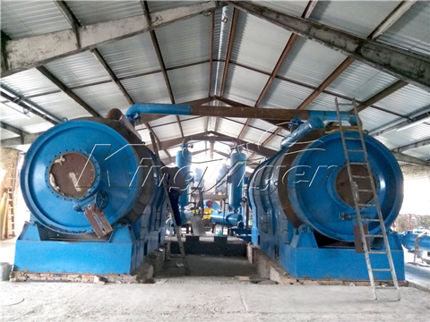 Small Pyrolysis Plant For Sale
